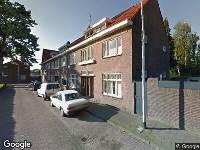 112 melding Politie naar Columbusplein in Tilburg vanwege letsel