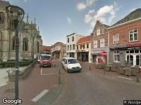 Brandweer naar Cornelis de Vosplein in Hulst vanwege letsel