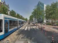 112 melding Ambulance naar Nieuwezijds Voorburgwal in Amsterdam