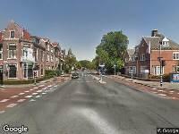 112 melding Ambulance naar Van Eedenstraat in Haarlem