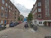 Ambulance naar Hofmeyrstraat in Amsterdam