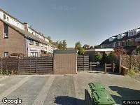 112 melding Brandweer naar Weegschaalstraat in Hazerswoude-Rijndijk vanwege waarnemen gaslucht