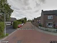 Brandweer naar Lisstraat in Landsmeer