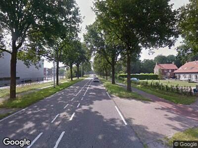 Traumahelikopter naar Vijf Eikenweg in Oosterhout