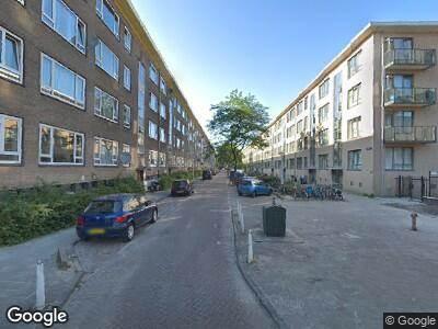 Ambulance naar Lucellestraat in Amsterdam