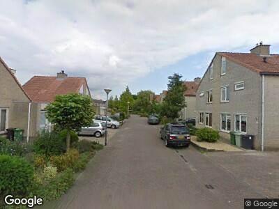 Ambulance naar Meester van Goerlestraat in 's-Hertogenbosch