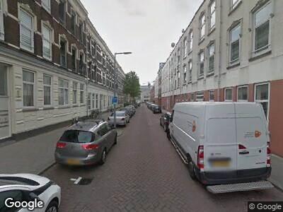 Ambulance naar Pieter de Raadtstraat in Rotterdam