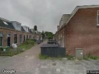 112 melding Brandweer naar Aert de Gelderstraat in Leeuwarden vanwege gebouwbrand