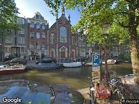 112 melding Ambulance naar Bloemgracht in Amsterdam
