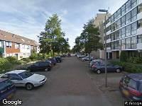 112 melding Ambulance naar Eduard C F Hellendoornstraat in Schiedam