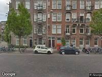 Ambulance naar Pretoriusstraat in Amsterdam