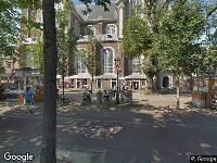 112 melding Ambulance naar Westermarkt in Amsterdam