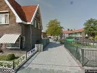 112 melding Ambulance naar Zesstedenweg in Grootebroek