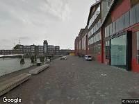 112 melding Brandweer naar RDM-kade in Rotterdam