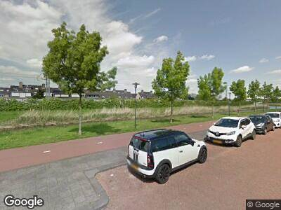 Ambulance naar Charley Tooropsingel in Rotterdam