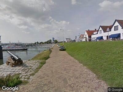 Ambulance naar Berghaven in Hoek van Holland