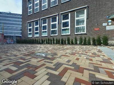 Brandweer naar Dr. Molewaterplein in Rotterdam vanwege brand