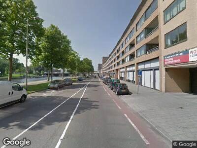 Ambulance naar Aelbrechtskade in Rotterdam