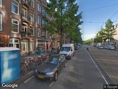 Ambulance naar Frederik Hendrikstraat in Amsterdam
