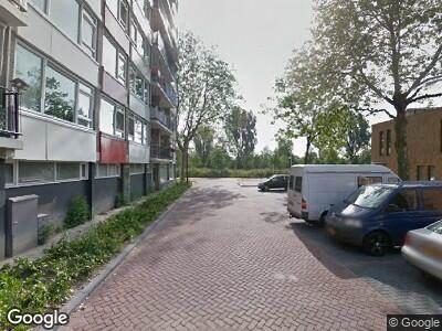 Brandweer naar Jan Damenstraat in Schiedam