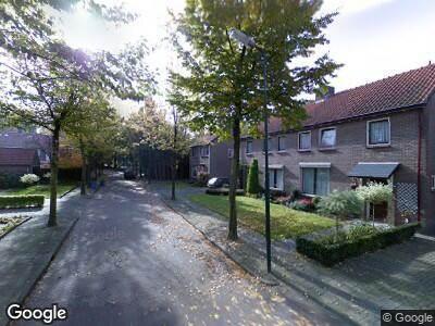 Ambulance naar Christiaan van der Aalaan in Oisterwijk