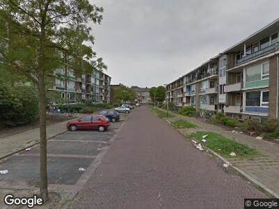 Politie naar Nachtegaalstraat in Alphen aan den Rijn