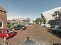 112 melding Brandweer naar Minister Lelystraat in Vlissingen vanwege brand