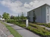 112 melding Brandweer naar Dr. Poletlaan in Eindhoven vanwege verkeersongeval