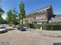 112 melding Brandweer naar Messchaertstraat in Amsterdam