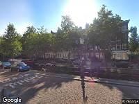 112 melding Ambulance naar Lijnbaansgracht in Amsterdam