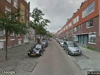 112 melding Ambulance naar 1e Schansstraat in Rotterdam