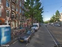 112 melding Ambulance naar Frederik Hendrikstraat in Amsterdam