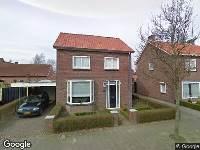 112 melding Politie naar Petershemstraat in Hilvarenbeek vanwege letsel