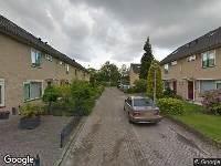 112 melding Besteld ambulance vervoer naar Waterakker in Eindhoven