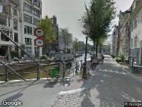 112 melding Ambulance naar Staalstraat in Amsterdam