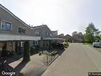 112 melding Ambulance naar IJsvogel in Alblasserdam