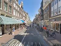 112 melding Ambulance naar Haarlemmerdijk in Amsterdam