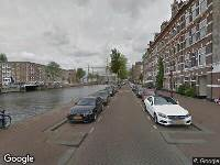 112 melding Ambulance naar Houtmankade in Amsterdam