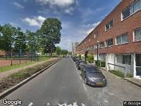 112 melding Brandweer naar Efua Sutherlandstraat in Amsterdam vanwege een liftopsluiting