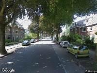 112 melding Brandweer naar Van 't Santstraat in Nijmegen