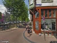 112 melding Ambulance naar Herengracht in Amsterdam