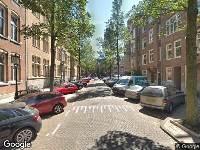 112 melding Ambulance naar Moreelsestraat in Amsterdam