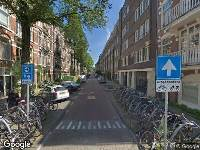 112 melding Ambulance naar Tweede Helmersstraat in Amsterdam
