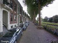 Brandweer naar Buys Ballotstraat in Utrecht