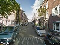 112 melding Ambulance naar Wakkerstraat in Amsterdam