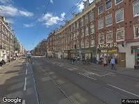 112 melding Ambulance naar Van Woustraat in Amsterdam