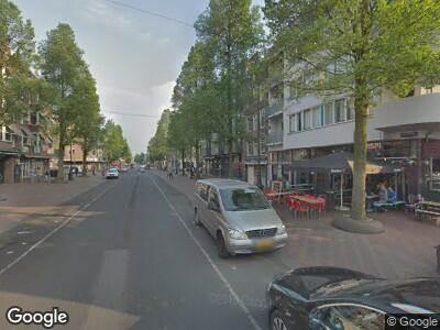 Traumahelikopter naar Von Zesenstraat in Amsterdam