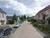 Ambulance naar Scholeksterstraat in Numansdorp