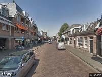 Ambulance naar Raadhuisstraat in Heemstede