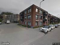 112 melding Brandweer naar Van der Sasstraat in Rotterdam